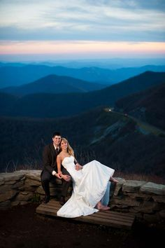 Tracy & Tom's Spectacular Mountaintop Day After Session | Poptastic Bride