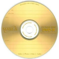 MAM-A 4.7GB 8x 24 kt. Gold Archive DVD-R Discs with logo, 10-pack in Jewel Cases by MAM-A. $42.95. MAM-A is proud to announce this new 10pk Jewel Case Package option for our Archive Gold DVDs. Until now you needed to purchase archive DVDs in 50pk & 100pk spindles. These new packages make gold discs much more affordable. Plus, each disc is protected by an individual jewel case.Now more than ever, the life of your disc means something. Back when the files you kept on discs were...