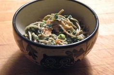 Edamame, Smoked Salmon , Kale,Pomegranate, and Lemon Sesame Aioli Recipe on Food52
