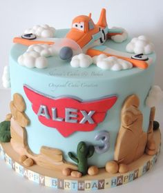 Planes Cake by Shereen - For all your cake decorating supplies, please visit craftcompany.co.uk