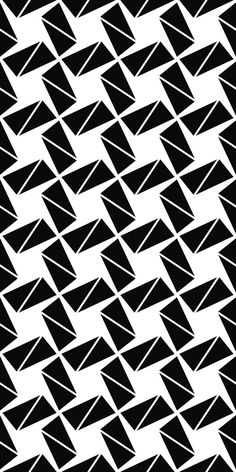 Seamless monochrome triangle pattern background – Top Of The World Geometric Designs, Geometric Art, Pattern Art, Pattern Design, Vector Pattern, Textures Patterns, Print Patterns, Laser Cut Panels, Monochrome Pattern