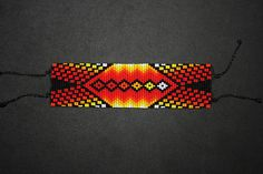 Loom Bracelet Patterns, Bead Loom Bracelets, Peyote Patterns, Beading Patterns, Native American Patterns, Native American Beadwork, Loom Beading, Bead Art, Bead Weaving
