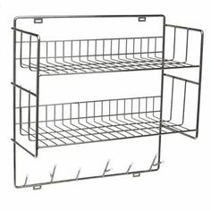 Double Shelf - chrome - Maze