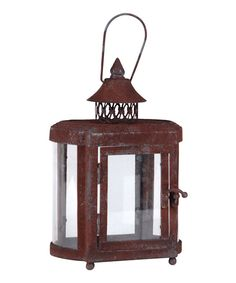 Take a look at this Rustic Candle Lantern on zulily today!