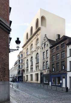 Barozzi Veiga . Tab . Van Der Wee . Jewish Museum of Belgium . Brussels AFASIA (2) | a f a s i a Contemporary Architecture, Architecture Details, Jüdisches Museum, Win Competitions, Barcelona, Jewish Museum, Urban Fabric, Contemporary Classic, School Architecture