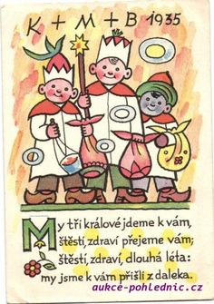 Tři králové-Josef Lada 1935 Aa School, School Clubs, Three Wise Men, Comic Styles, Advent, Christmas Cards, Comics, The Past, Drawings