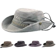f1b13d6e76e43 Sugely Cotton Sun Hat UV Protection Summer Hats Beach Hat Safari Boonie Hat  Foldable Fishsing Hat