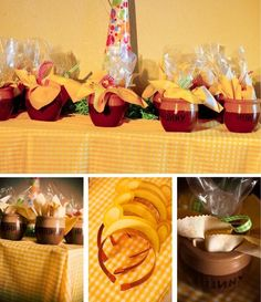 honeypot favors  pooh headbands  A Winnie-the-Pooh and Friends Birthday Party   Magical Day Parties   A Fan Site Celebrating Disney Themed Events