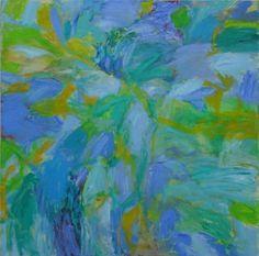 Taidelainaamo - Rauni Sipilä: Sinisellä