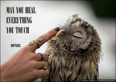 ∆ Intention...Healing touch..