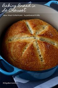 Mango & Tomato: New West Knifeworks' Superbread Knife & Baking Bread in Le Creuset by Ruhlman