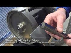 How to Sharpen Wood Turning Tools - YouTube