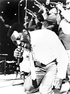 Otis Redding.  He's just gotta be singing Try  a Little Tenderness!