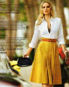 TheSecretCostumier - A-line skirt Burda photo1