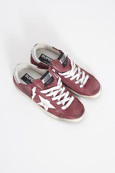 Red Superstar Sneaker by Golden Goose | shopheist.com