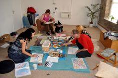 Creative Expression Workshop, Creativity For Stress, Tara Centre, Lancaster 2013