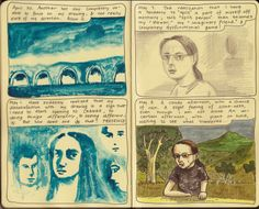 Moleskine Sketchbook Diary, copyright 2014 Nicky Nargesian