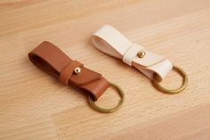 Handmade Leather Key Fob Keyring Key Chain, Bautiful Hand Made Quality