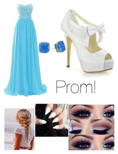 """""""PROM!!!!"""" by wecansaveusfromfalling ❤ liked on Polyvore featuring Kate Spade"""