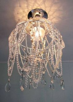 Dollar Store Crafts Chandelier