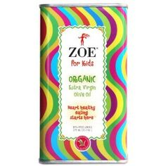 Zoe for Kids Organic Extra Virgin Olive Oil, 12.7 Ounce Tins (Pack of 2) (Grocery)
