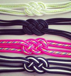 Parachute Cord Sailor Knot Bracelet. via Etsy.