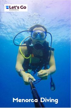 Find out how much it costs, where is best for diving in Menorca and all the companies you can go diving with #menorca #menorcadiving #diving