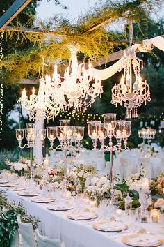 A romantic boho tablescape.
