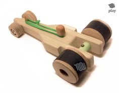 Drag Racing car wood toy