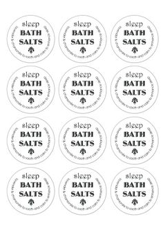 How to Make Bath Salts with essential oils (and FREE