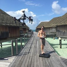 An awesome Virtual Reality pic! I have spent the week shooting 360 degree content with @nogravity_films at #ClubMedKani. My Drone skills are slowly improving as is my French!  I can't wait to share with you the amazing content we are creating!! #ClubMedKani #drone #maldives #travel #film #360 #virtualreality #oui #icanspeakfrench #holidays #beautiful by chrisisaphotographer check us out: http://bit.ly/1KyLetq
