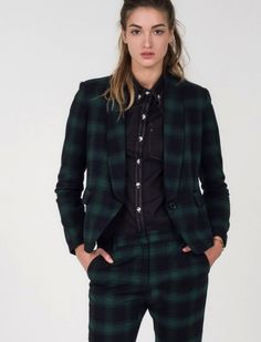 Punk rock suiting at its finest! Snag the blazer or shop the full collection of suit separates at wildfang.com