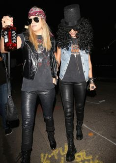 slash and axl rose costumes - Google Search