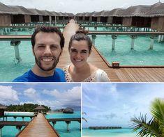 Maldivas... un lugar que nunca olvidarás 😍 Patricia y Pablo están disfrutando de este paraíso azul en su luna de miel...❤️ ¿Quieres relajarte en una cabaña sobre mar? ¡En Viajan2 te podemos ayudar! #Maldivas #Lunademiel #viajedenovios #relax #playaparadisiaca #pareja #amor Asia, Relax, Outdoor Decor, The Maldives, Honeymoons, Couple, Travel, Boyfriends