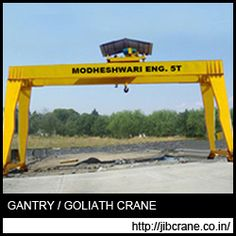 We are the leading manufacturer of various equipments that are useful in the handling of heavy equipments and materials like HOT Crane, Gantry Crane, Trolley Crane and JIB Cranes, hoist and goods lift. #JibCraneSupplier #JibCraneIndia #jibcranemanufacturersinindia #jibcranepriceinindia #GantryCranesManufacturer #GantryCraneIndia