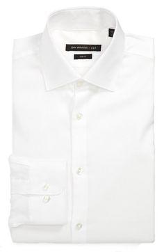 John Varvatos Star USA Trim Fit Dress Shirt available at #Nordstrom