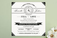 Ever After Wedding Invitations by cadence paige de... | Minted