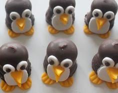 Zo maak je grappige pinguin #traktaties! #kinderen #trakteren