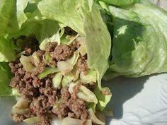 Sandy's Kitchen- Medifast Recipes- LEAN & GREEN- Asian Lettuce Wraps. Very good!