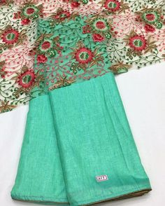 Mint green silk saree with gold piping border and net embroidery blouse piece To purchase this product mail us at houseof2@live.com  or whatsapp us on +919833411702 for further detail #sari #saree #sarees #sareeday #sareelove #sequin #silver #traditional #ThePhotoDiary #traditionalwear #india #indian #instagood #indianwear #indooutfits #lacenet #fashion #fashion #fashionblogger #print #houseof2 #indianbride #indianwedding #indianfashion #bride #indianfashionblogger #indianstyle…