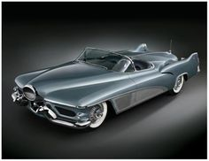 The 1951 GM LeSabre concept car was possibly the most important show car, introducing aircraft-inspired design elements such as the wrap-around windshield and tail fins These features became common on automotive designs during the second half of the decade. Just another testament to the innovation of UAW labor union made vehicles.