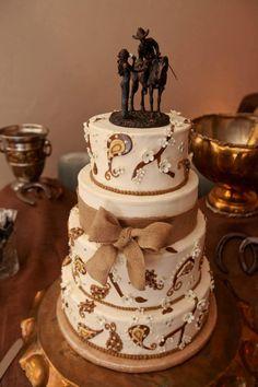 Lubbock Wedding Cake Western