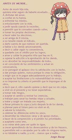 Antes de morir... Jorge Bucay