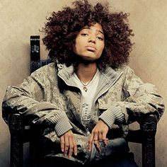 Nneka. Love her overall look