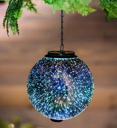 Stargazing Solar Orb in Lighted Garden Accents