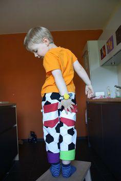 Fußball-Hose hinten