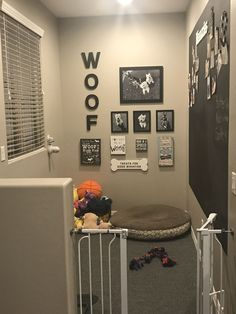 Puppy Room Design Idea Puppy Room Design Idea,Hundehaus ideen Puppy Room Design Idea, Related posts:Meguiar's Headlight and Clear Plastic Restoration Kit - Diy headlight. Animal Room, Dog Rooms, House Rooms, Dog Play Room, Rooms For Dogs, Kids Room, Dog Bedroom, Bedroom Decor, Dog Room Decor