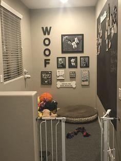 Puppy Room Design Idea Puppy Room Design Idea,Hundehaus ideen Puppy Room Design Idea, Related posts:Meguiar's Headlight and Clear Plastic Restoration Kit - Diy headlight. Animal Room, Dog Bedroom, Bedroom Decor, Dog Room Decor, Pet Decor, Bedroom Black, Puppy Room, Dog Rooms, Dog Play Room