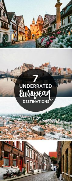 If you imagine traveling to Europe, what do you think of? Paris, Italy…Germany perhaps? Our travel writer shares on 7 underrated places in Europe you should definitely visit that are sometimes overlooked. Europe Train Travel, Travel Europe Cheap, Travel Through Europe, Backpacking Europe, European Travel, Traveling Europe, Europe Europe, Europe Packing, Packing Lists