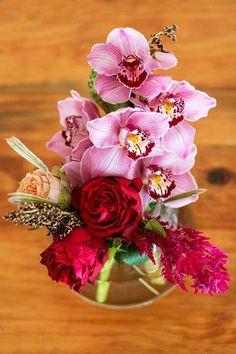 WEDDING | Theo & Tia  FLOWERS | Tulips, cymbidium, roses  PHOTO | Leze Hurter Photography